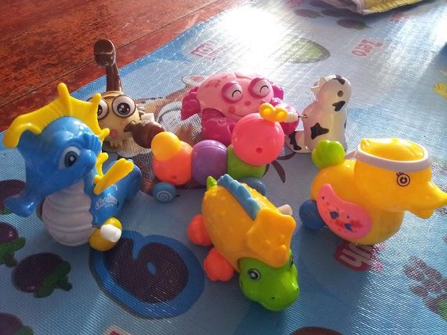 Koleksi Binatang Mainan Budak 3 Tahun