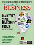 MALAYSIAN BUSINESS OCTOBER 16th ISSUE OF 2014 NOW ON SALE