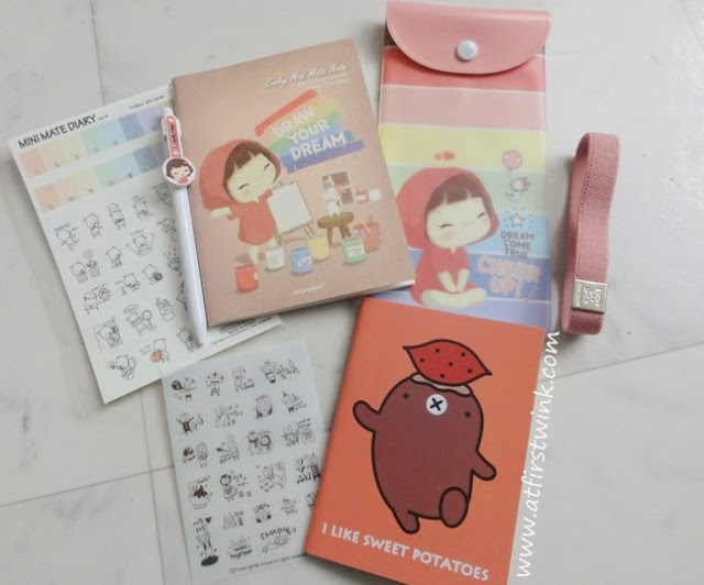 Cookyshop mini mate diary 2013 freebies