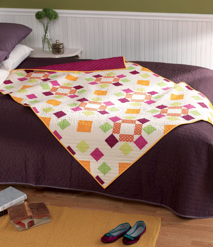 Dancing Squares Quilt from Vintage Quilt Revival – Freshly Pieced