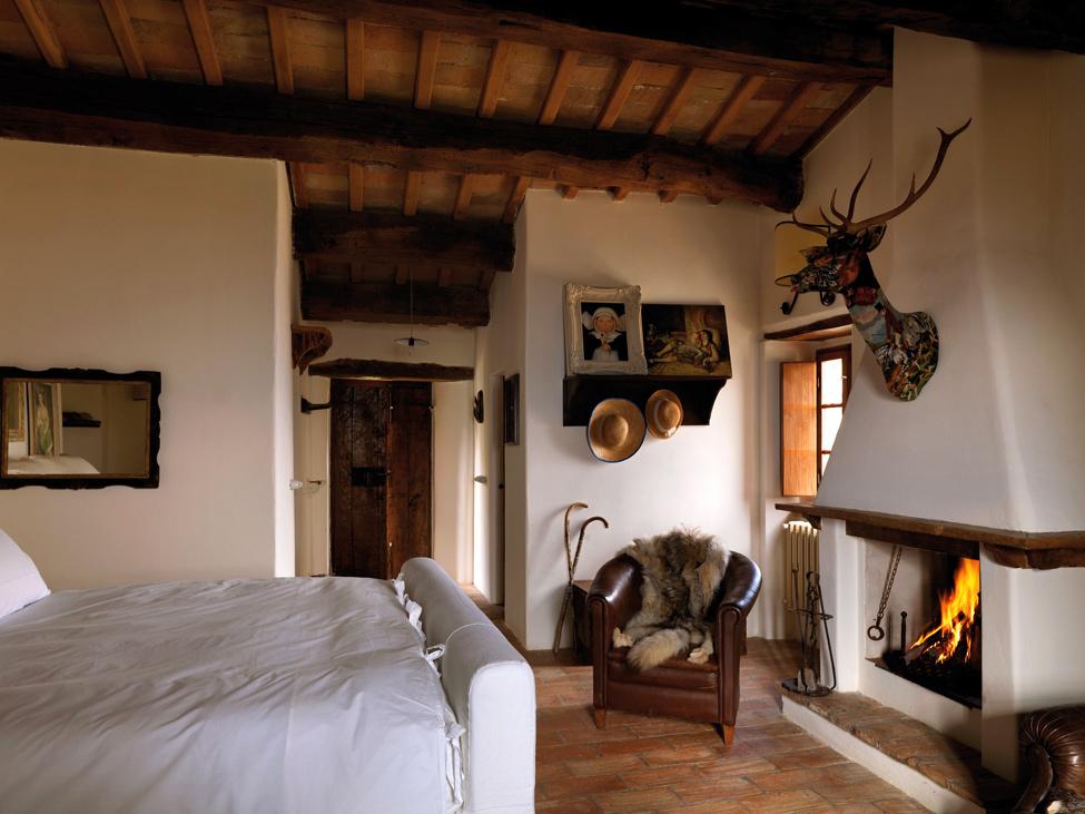 Estilo rustico bella casa rustica en la liguria - Interior casas rusticas ...