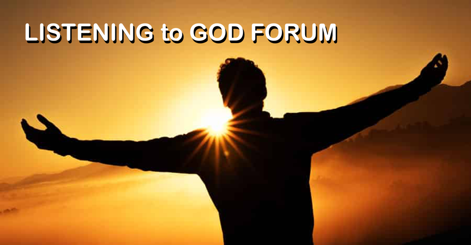 Listening to God Forum