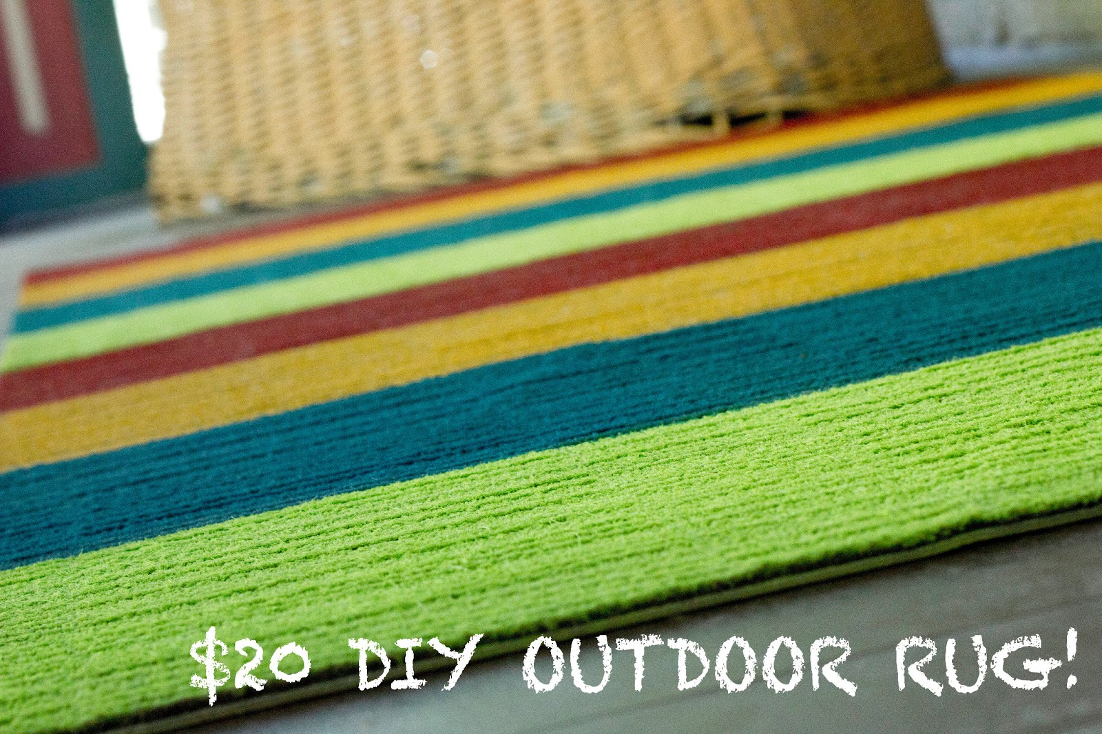 decorate outdoor rug design to low crafts diy make on patterned a step tos paint pile and how