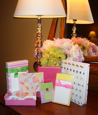Stationery Swap & Lilly Giveaway!!