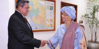 Hari Ini, Presiden Yudhoyono Terima Kunjungan Presiden Liberia