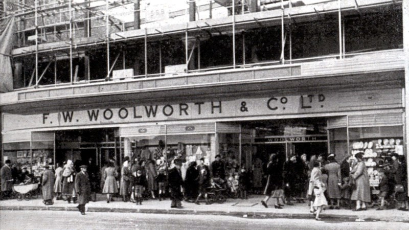 Portsmouth Woolworths 1950