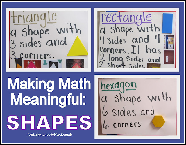 photo of: Making Math Meaningful with Shapes