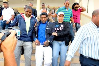 Omega amaneció preso en el Palacio Justicia Ciudad Nueva