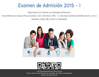 Resultados Ingresantes Examen Admisión UNICA 2015-I 9 de agosto
