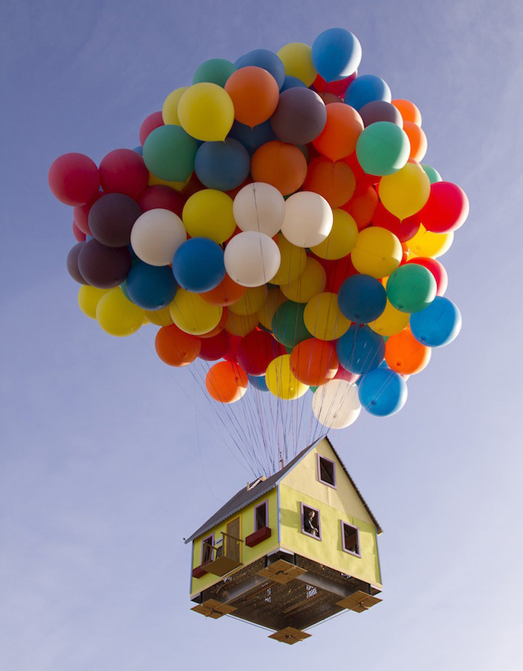 Up House Balloons Wallace Church Inc Real Balloon House From The Movie Up