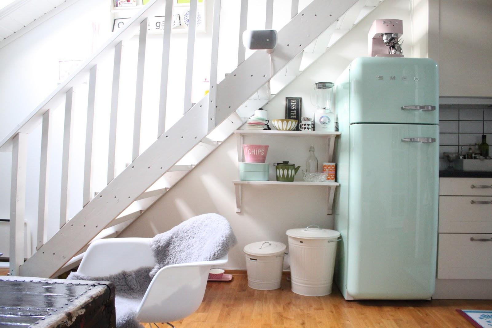 Sukkert y for yet kj kken - Cucina con frigo smeg ...