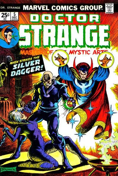 Portada de Doctor Strange Vol1-05