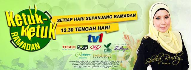 Ketuk-Ketuk Ramadhan TV1 2015 #InikanPuasa