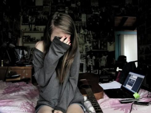 menina, chorando, triste, tumblr, eu te amo, menina tumblr