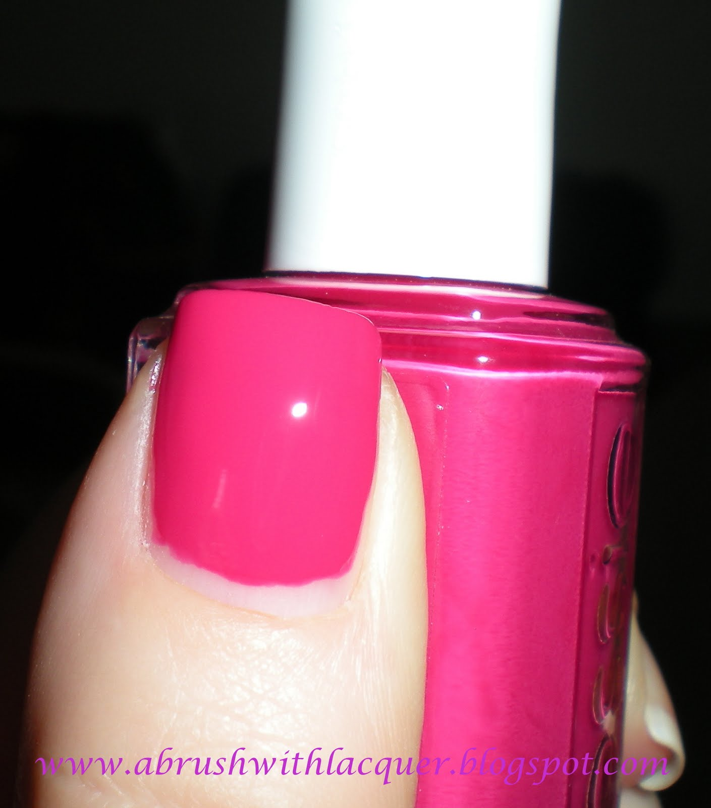 A Brush with Lacquer: ESSIE Swatch: Bachelorette Bash