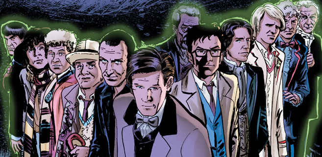 Get Over 60 Doctor Who Comics [Pay What you Want]