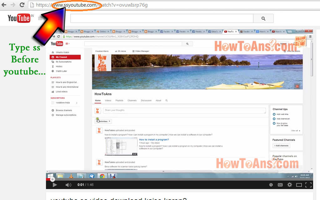 download youtube video online using url