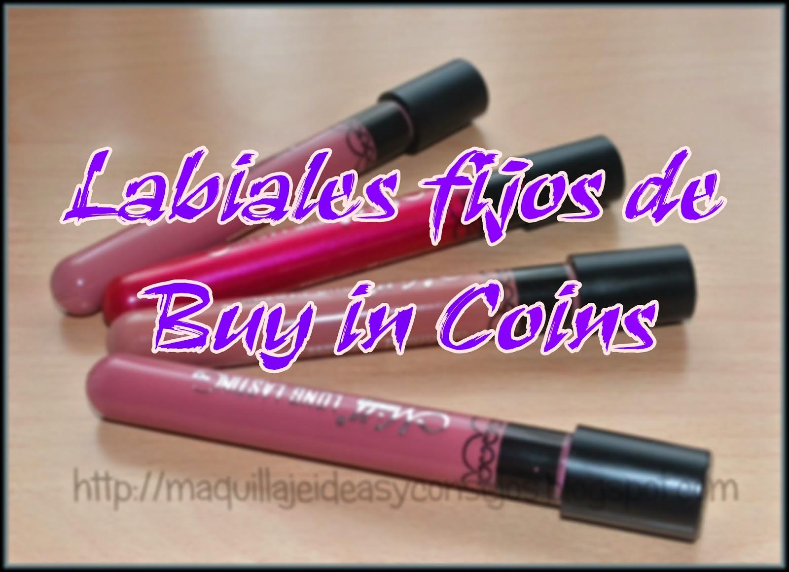 Labiales fijos de Buy in coins, una auténtica pasada