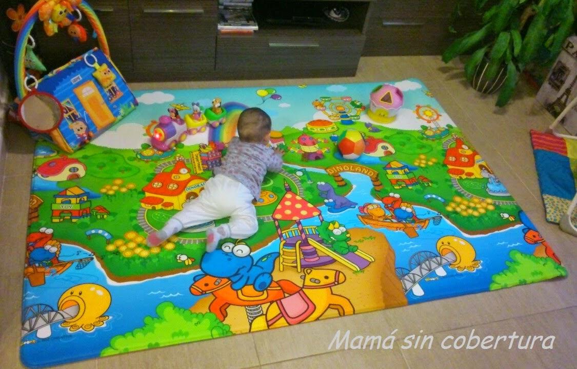 Alfombras infantiles para gatear materiales de - Alfombra habitacion bebe ...