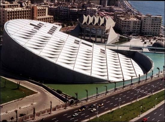 Bibliotheca-Alexandrina-Mesir