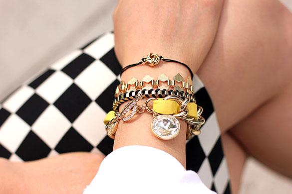 Ann Taylor H&M Layered Bracelets