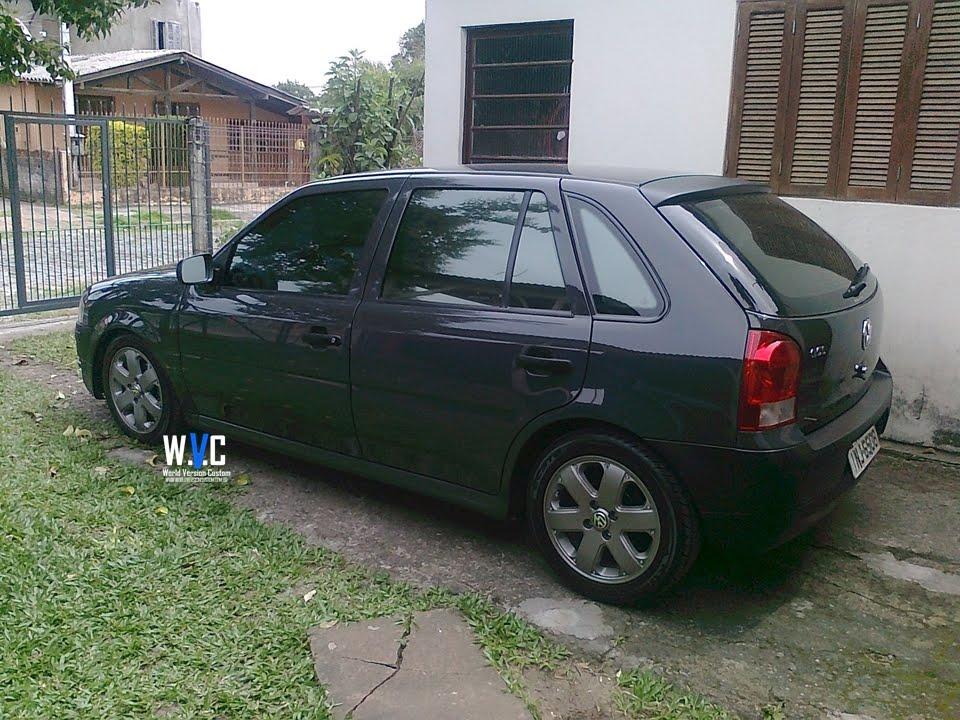 World Version Custom Carro Do Internauta Gol Rodas Aro 15 Quot