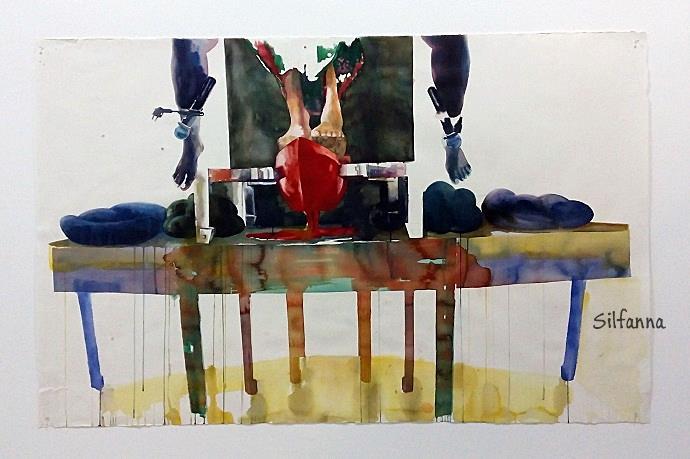 pameran lukisan medan