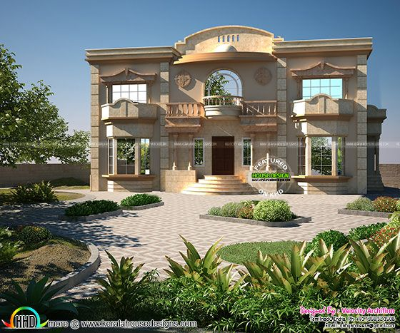 arabian touch home design kerala home design and floor plans