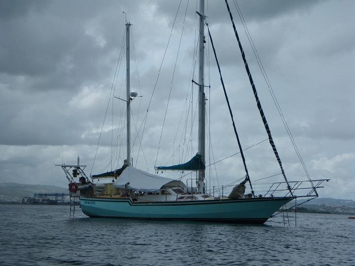 bateaux de france  u00e0 vendre  ketch de voyage acier