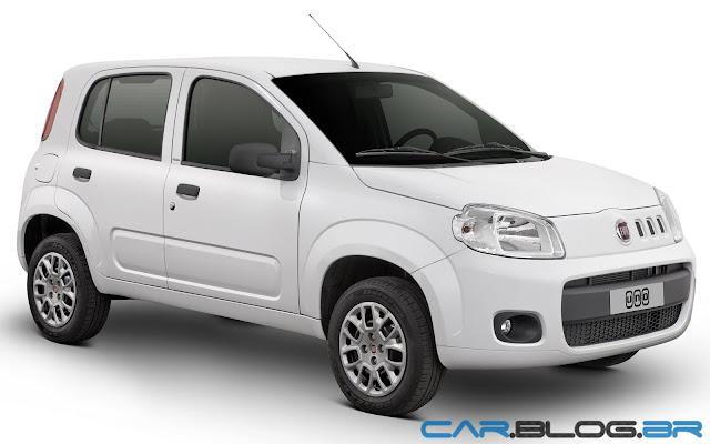 Fiat Uno Vivace 2013 Branco