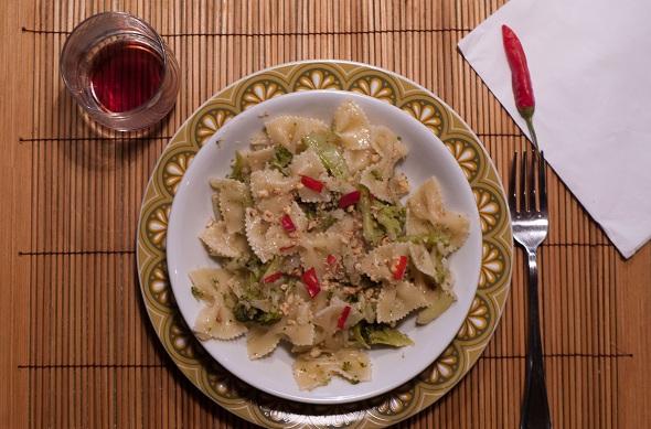 Pasta broccoli e mandorle