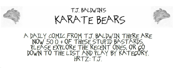 Karate Bears
