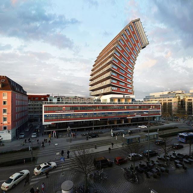 Mismo Edificio en Munich Configurado en 88 Maneras