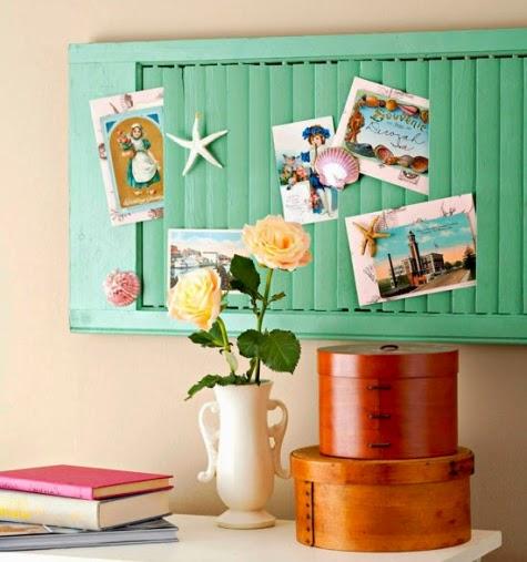 shutter for organizing