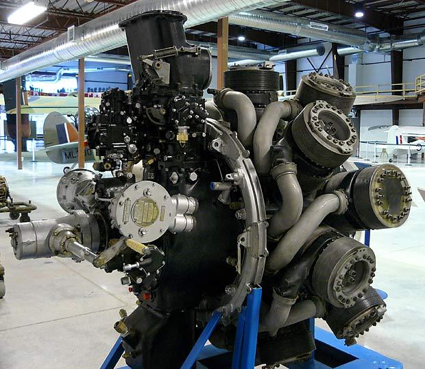 Bristolhercules on Rotary Sleeve Valve Engine
