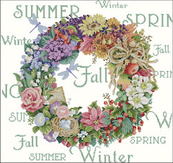Dimensions Wreath of all seasons