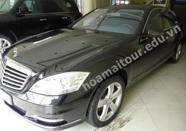 Cho thuê xe Mercedes S500 1