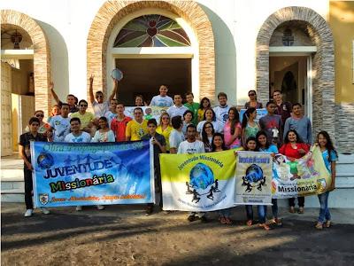 Encontro em Fortaleza (CE), reúne líderes da Juventude Missionária