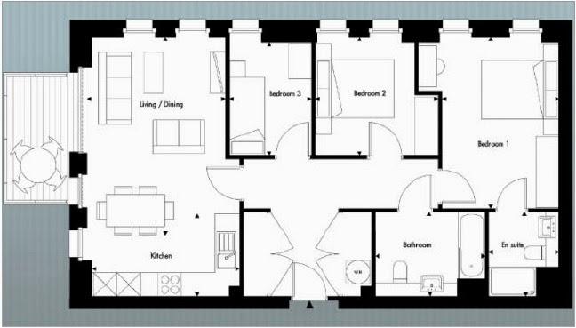 英國倫敦房地產壹號公館樓盤圖