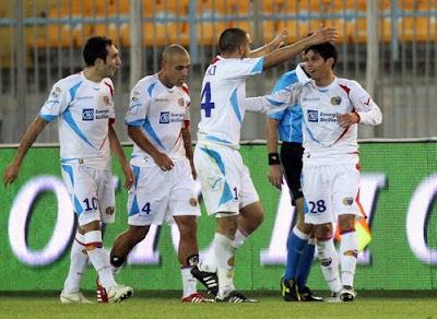 Lecce Catania 0-1 highlights sky