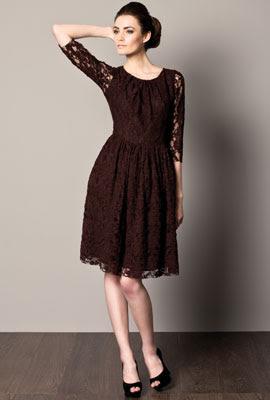 vestidos de fiesta cortos Caramelo otoño invierno 2012 2013