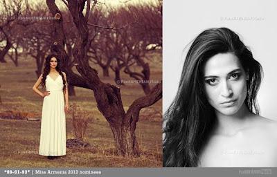 Miss Armenia Hayastan Միսս Հայաստան 2012 Lilit Martirosyan