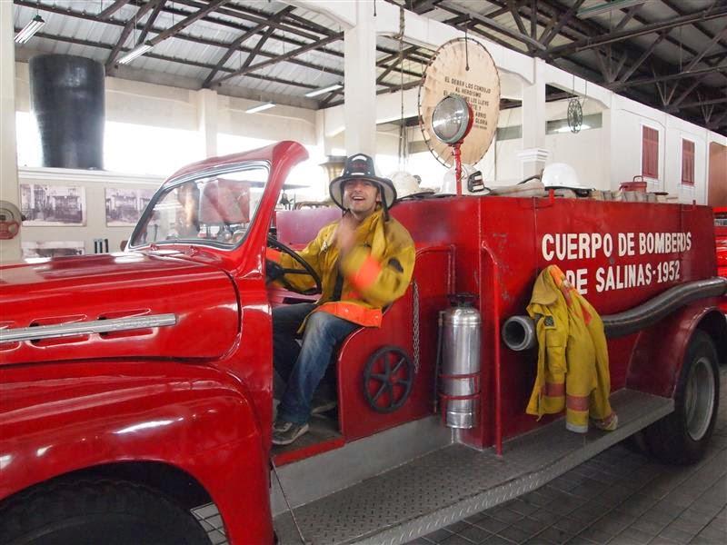 Museo del bombero ecuatoriano