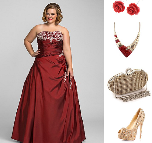 Vintage Inspired Fashion Blog : 7 Body Flattering Plus Size Prom ...