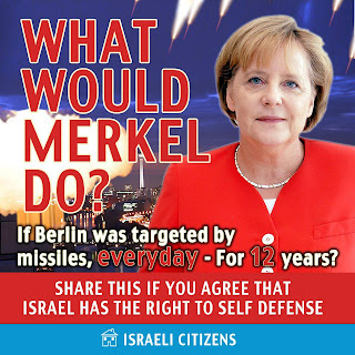 Gaza: What would Merkel do?