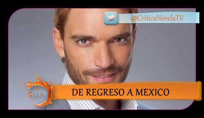 El actor estará en la nueva apuesta de Televisa protagonizada por Gay ...