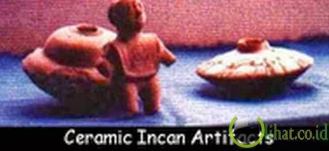 Patung UFO Inca Kuno