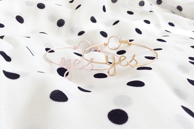 Yes bracelets