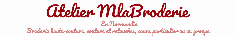 Atelier MlaBroderie, en Normandie