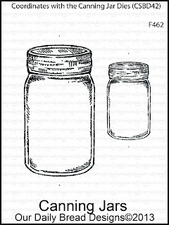 Stamps - Our Daily Bread Designs Canning Jars Single